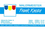 Malermeister Frank Knote